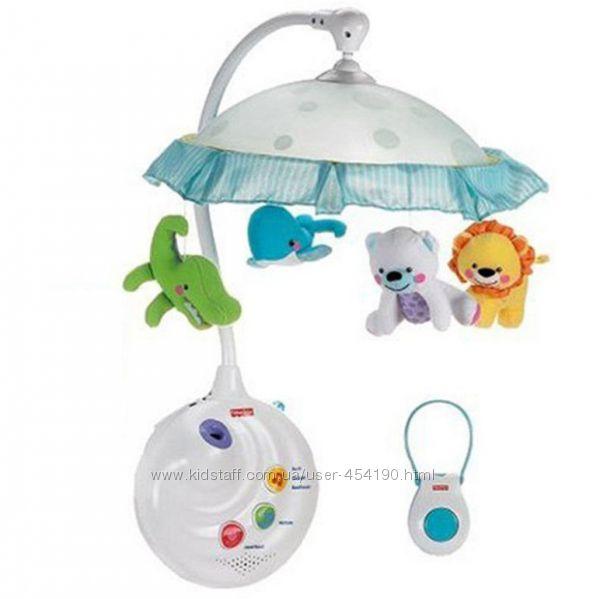Мобиль Чудесная планета в детскую кроватку Fisher Price N8849