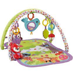Детский развивающий коврик 3-в-1 Лесные друзья Fisher Price