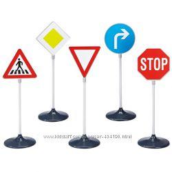 Детский набор дорожных автомобильных знаков 1 Klein 2980