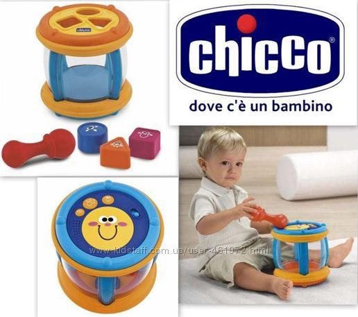 Chicco музыкальная игрушка, барабан, сортер