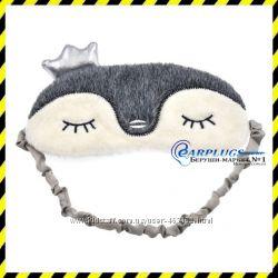 Дизайнерская маска для сна Silenta Пингвин.