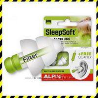 Беруши ДЛЯ СНА Alpine SleepSoft  плюс 2 Подарка