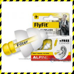 Беруши для полетов и путешествий Alpine FlyFit плюс подарок.