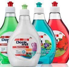 Denkmit гели-концентраты  для мытья посуды - Германия