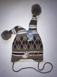 Зимние шапочки на деток 1-3 года