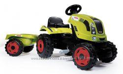 Трактор педальный с прицепом FARMER XL Smoby 710114
