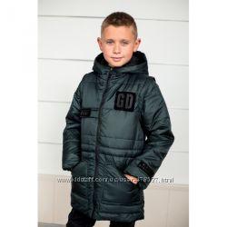 Куртки для мальчиков на рост от 92 до 164 в наличии.