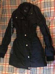 Куртка Tally Weijl демисезонная черная р. 34