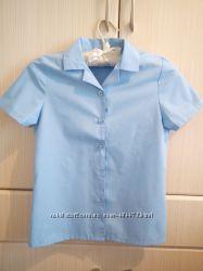 Новая Блузка рубашка для девочки в школу