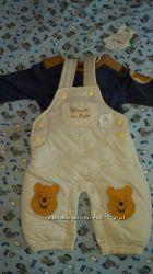 Осенний комплект Kiabi Disney Baby для новорожденных