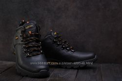 Мужские зимние ботинки Ecco 130W-M1 black