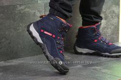 Ботинки зимние термо Merrell dark blue