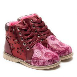 Очень красивые ботиночки для девочки, размер 20-25