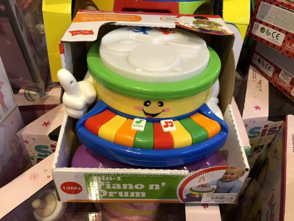 Развивающая игрушка - Веселый оркестр свет, звук Kiddieland