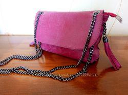 Шикарная сумочка, Италия, кожа.