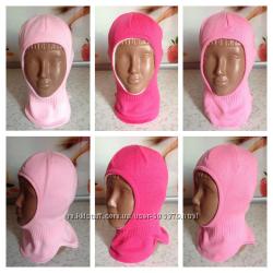 Зимние шлемики на флисе для девочек