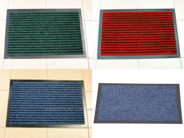 Придверный грязезащитный коврик на резиновой основе толщиной 8, 5 мм