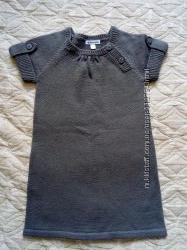 Теплое платье-сарафан Vertbaudet р-р 2-4 года