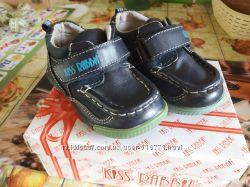Кожаные туфли 20 размер
