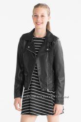 D-972 Куртка-косуха С&A кожзам р. 170 - 38