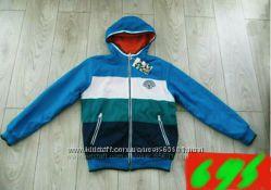 Распродажа Яркая, стильная двухстороння деми курточка  р 104-122