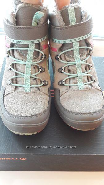 Ботинки утепленные Merrell 34. 5