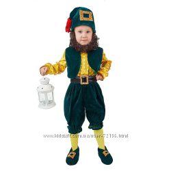 карнавальный костюм гнома гномик ПРОКАТ