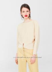Новый свободный нарядный пуловер кофта MANGO