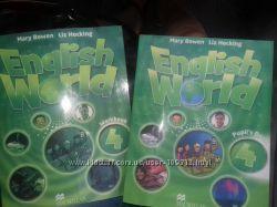 English World4 английский  комплект учебник, рабочая тетрадь