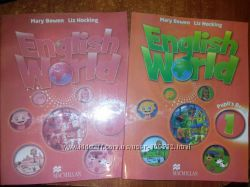 English World 1 Английский комплект учебник, рабочая тетрадь