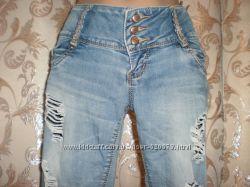 Женские летние джинсы, р. 27