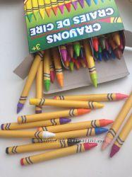продам 48 карандашей восковых с точилкой