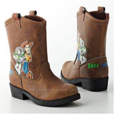 Деми сапожки  ботинки 16 см  Toy story История Игрушек Базз и Вуди