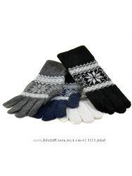 Перчатки женские, вязка