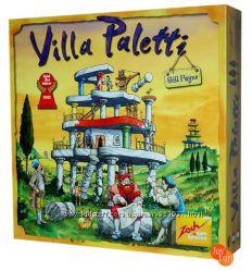 Настольная игра Вилла Палетти Villa Paletti