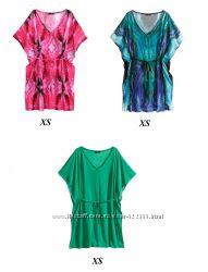 Разноцветные туники H&M, XS-S