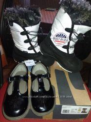 Туфли oshkosh и сапоги kamik