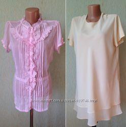 Брендовые блузки, рубашки из Европы - 16  р.