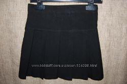 Юбка черная школьная р. 104-110