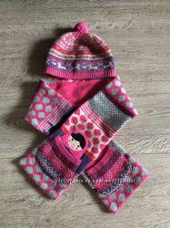 Шапочка с шарфиком Accessorize