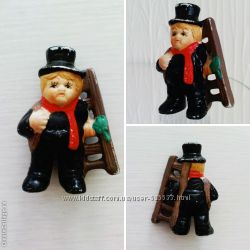 Антикварная миниатюрная фигурка Трубочист, Германия