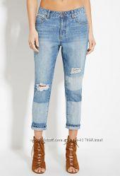бойфренды Forever 21 Boyfriend Jeans размер 28/29