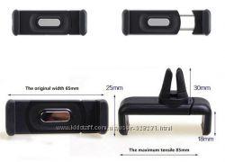 Универсальный держатель для телефона, GPS в дефлектор