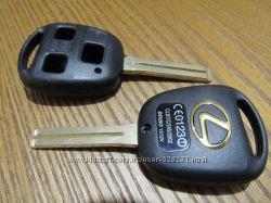 Корпус ключа Lexus GX470 RX350 ES300 RX300 RX400h SC GS LS