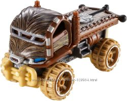 Hot Wheels машинка-герой Чубака Хот Вилс звездные войны star wars