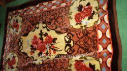 меховое одеяло новое качественное