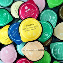 Капсульные маски Innisfree capsule recipe pack