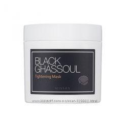 Missha Black Ghassoul Черная укрепляющая маска с глиной Гассул