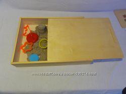 Песочница деревянная для кинетического песка, возможно оптовые продажи