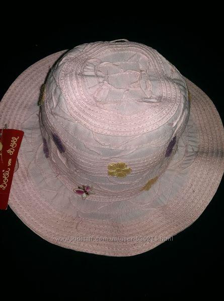 Шляпа панамка dolli 49 см новая